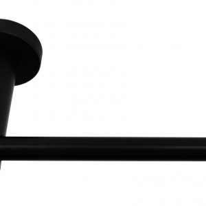 Matte Black Toilet Roll Holder