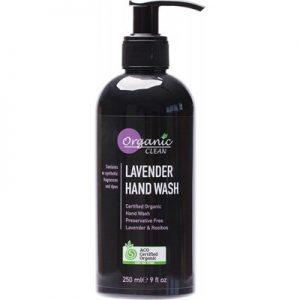 Organic Clean Lavender Hand Wash