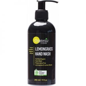 Organic Clean Lemongrass Hand Wash