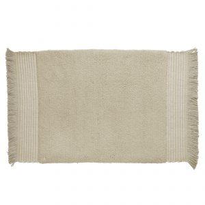 Linen Bath rug