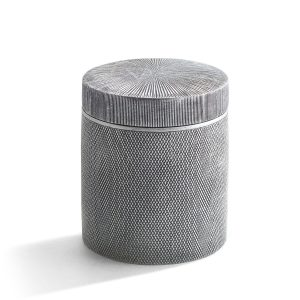 Mesh Cotton Jar - Bathroom Beauty